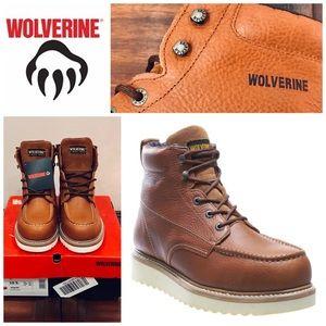 Wolverine Men's Steel Toe Work Wedge Boots